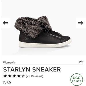 "UGG STARLYN SNEAKER ""NWOB""  Size 6"